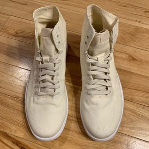"Nike Air Jordan 1 ""Deconstructed"" White/Cream"